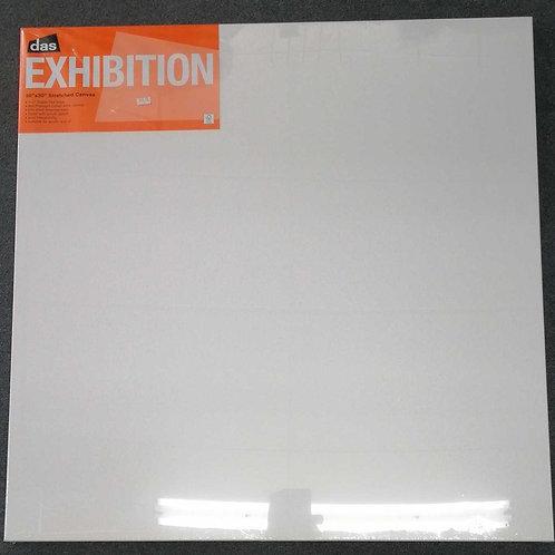 Das exhibition stretched canvas 30 X 30