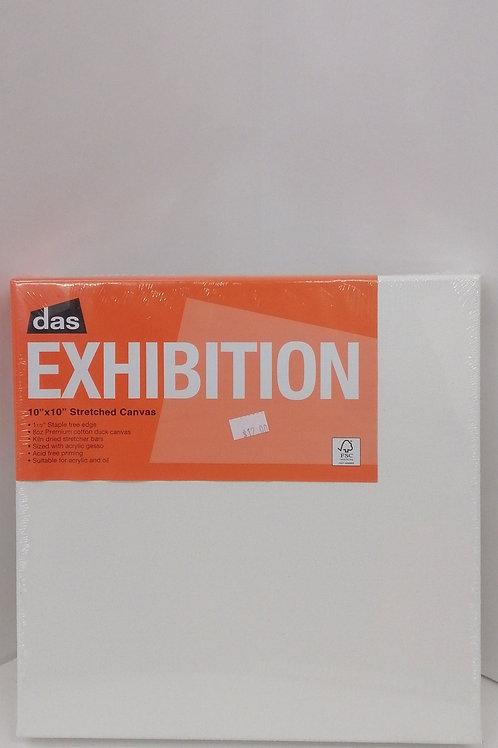 Das exhibition canvas 10 x 10