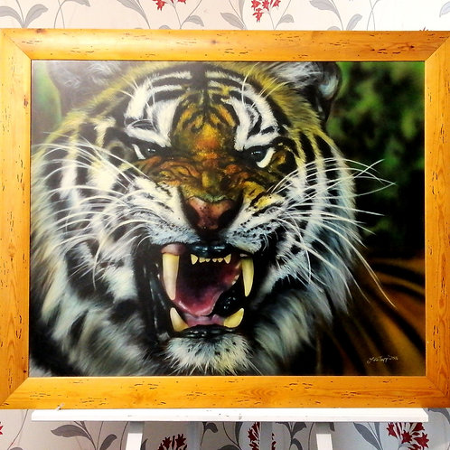 Tiger by Julia tapp 130x105cm