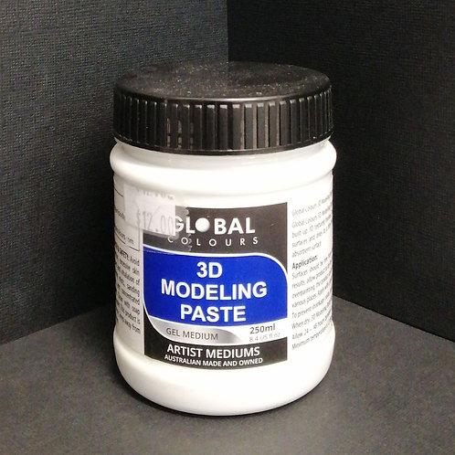 Global 3D modelling paste, 250ml