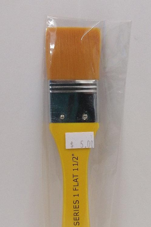 Nas brush series 1 Flat, 1 1/2 inch