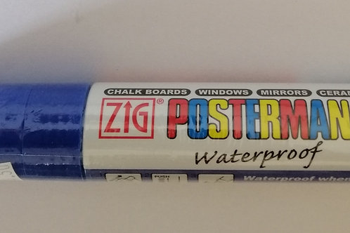 Zig Posterman blue 15mm