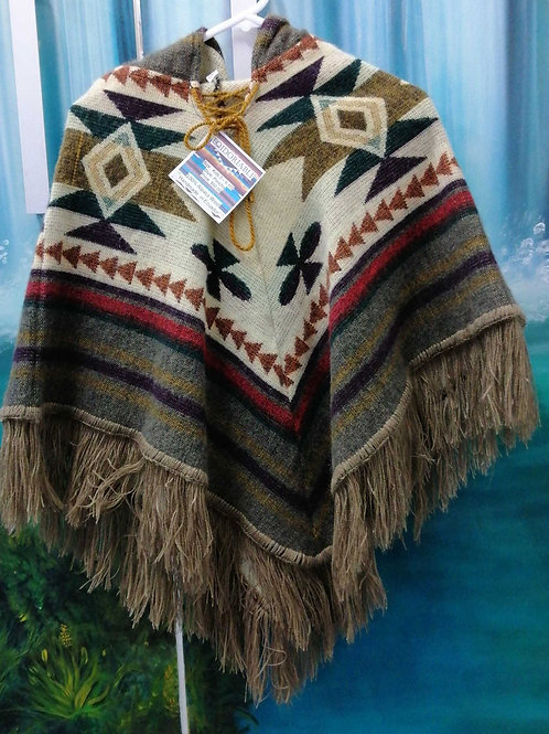 Poncho Kids 3 to 6 year old