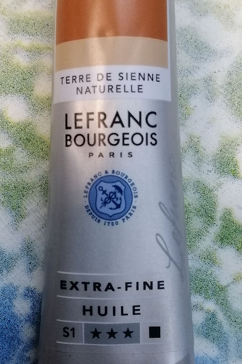 Lefranc and Bourgeois sienna extra fine huile s1