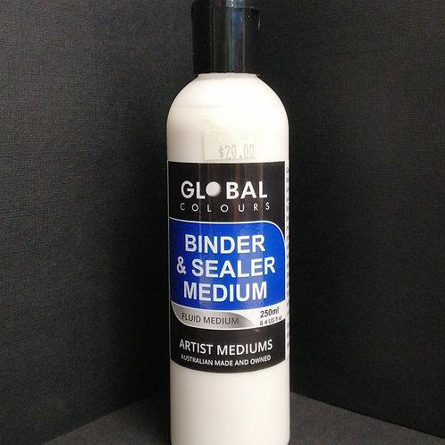 Global binder and sealer medium 250ml