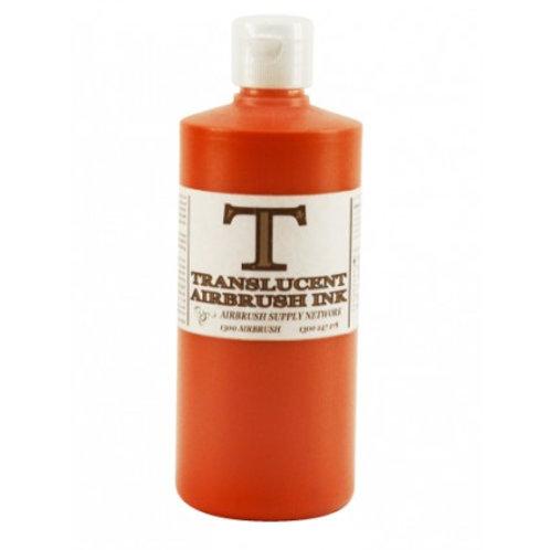 Airbrush Paint Translucent (T) Red (Orange) 500ML