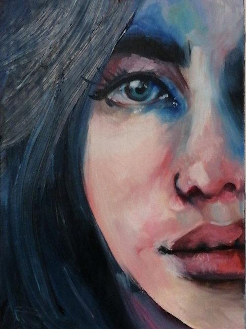 My Isolation by Zoe Quayle 21x14cm