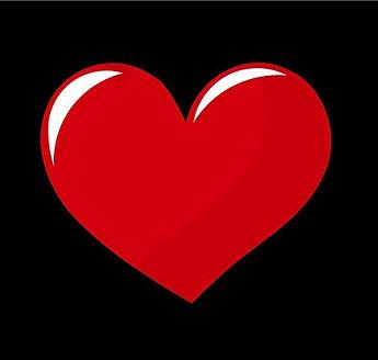 Big-vector-red-heart-over-black-backgrou
