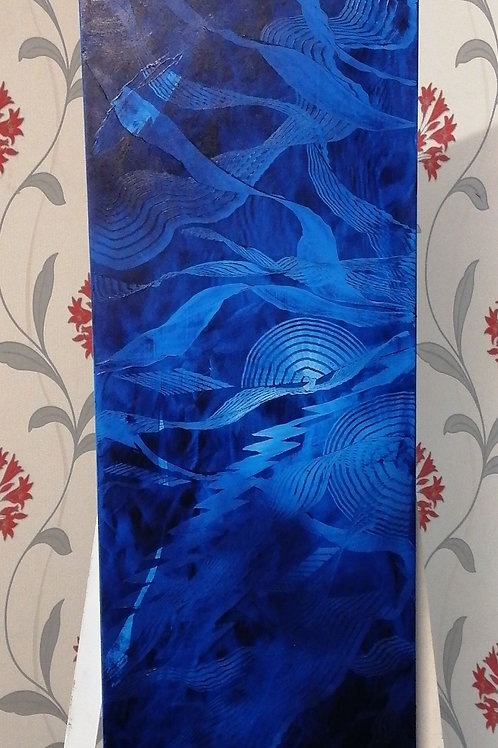 Under the Sea by Lyn Grey 40x130cm