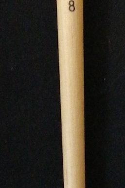 Size 8 hog bristle oil round brush