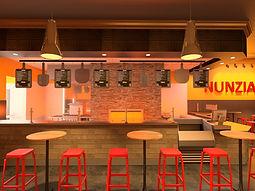 Nunzia's | Restaurant Design | Branding | Franchise Prototype | Adaptive Reuse | Chicago