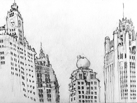 Sunday 10/4: Adult Goose Island Sketch Class with Urban Rivers