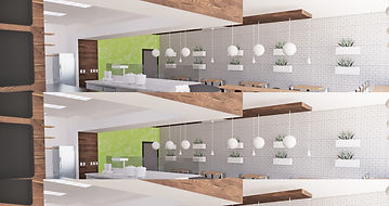 B Nutritious | Restaurant and Franchise Retail Prototype Design | California