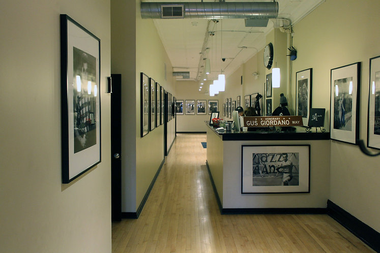 Gus Giordano Dance Studio hallway in Chicago