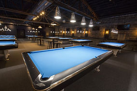 Surge BIlliards | Bar and Restaurant and Pool Hall Design | Adaptive Reuse | SBIF | Chicago