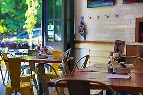 Pizza House 1647 restaurant design | Adaptive Reuse | Chicago