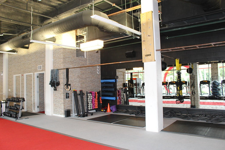 Cross Town Fitness studio located in Chicago