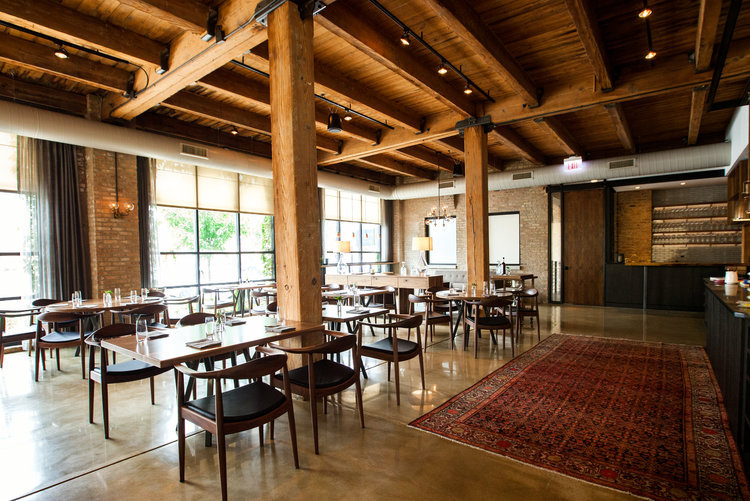 Smyth/The Loyalist dining room located in Chicago