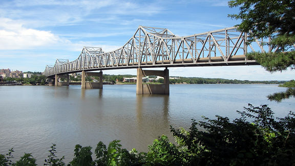 Murray_Baker_Bridge_from_East_Peoria_-_p