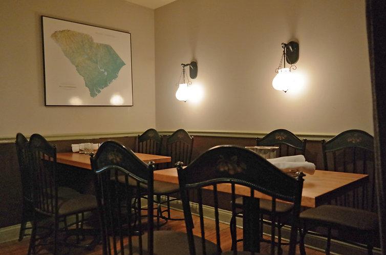 Big Jones dining room located in Chicago's Andersonville neighborhood