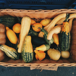 Products from the vegetable garden of Il Giardino di Iti