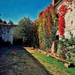 Internal Courte of Il Giardino di Iti