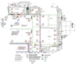 Geschossplan für ein Feuerwehrplan nach DIN 14095 - RETTUNGSPLAN.EU