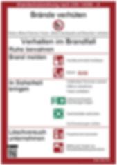 Brandschutzordnung DIN 14096 - RETTUNGSPLAN.EU