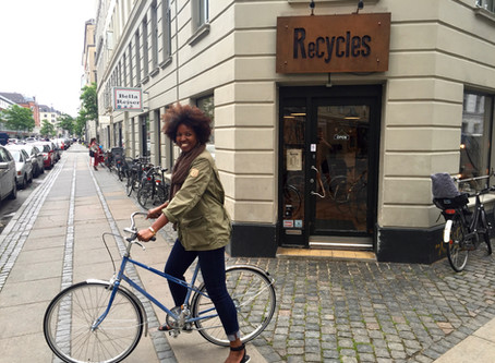 Riding a Bike for the First Time : Joy on Two Wheels in Copenhagen