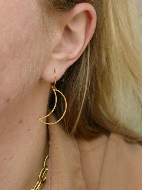 Boucles d'oreilles // MOON