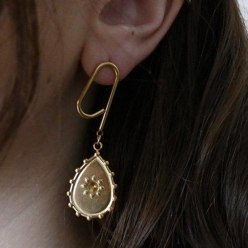 Boucles d'oreilles // LUEUR