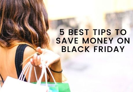 Best 5 money saving tips for Black Friday