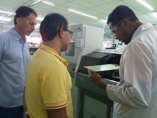 Sinai Segurança Eletrônica em Visita à Fábrica da PPA em Garça, estado de São Paulo