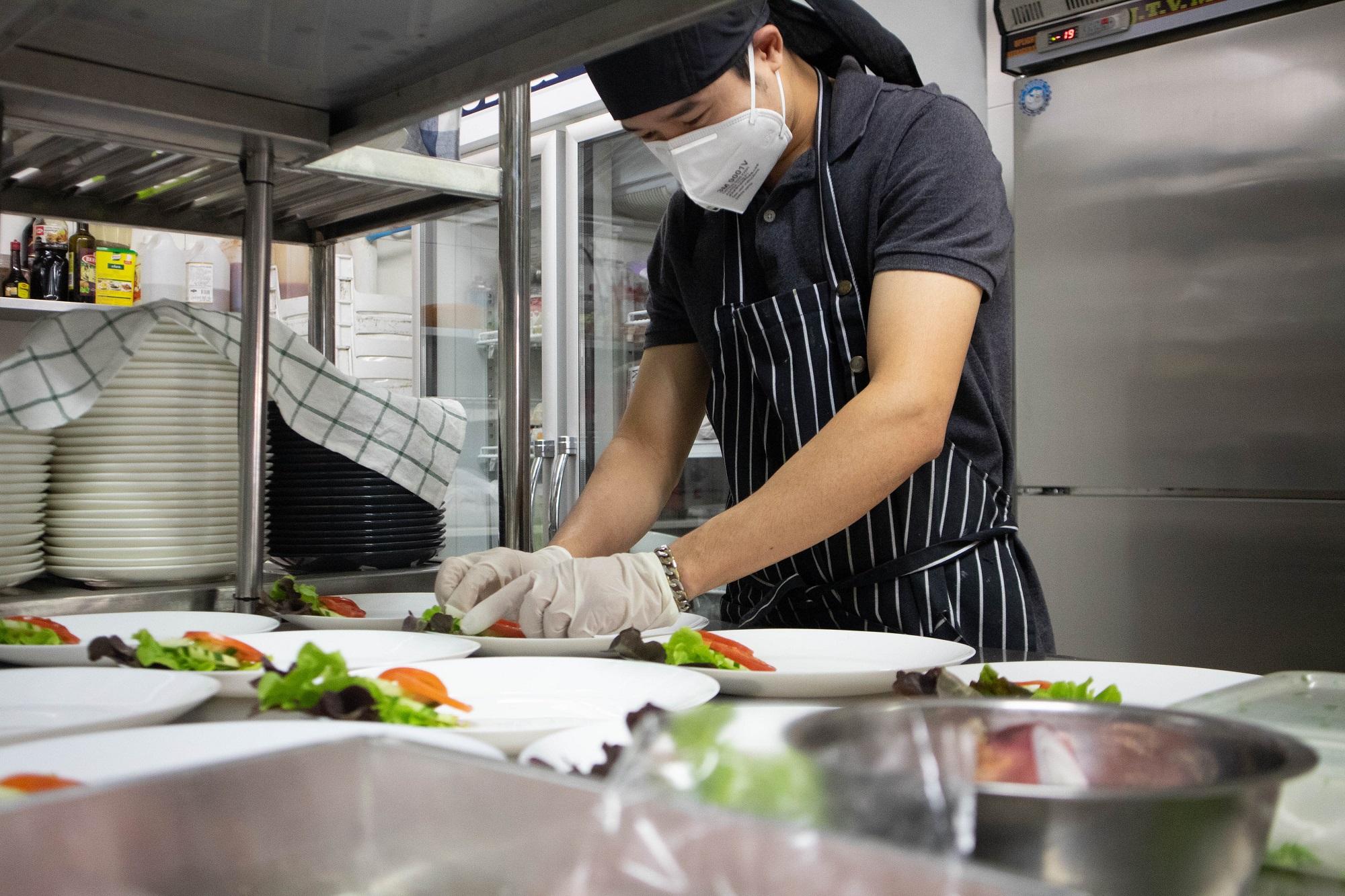 การปรุงอาหารนอกจากอร่อยแล้ว ยังต้องสะอาดทุกขั้นตอน
