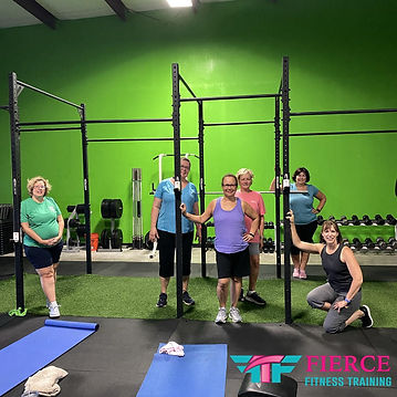 Fierce Fitness Training | Fitness For Women | Prime Time 55+ Women's Fitness | Evans GA