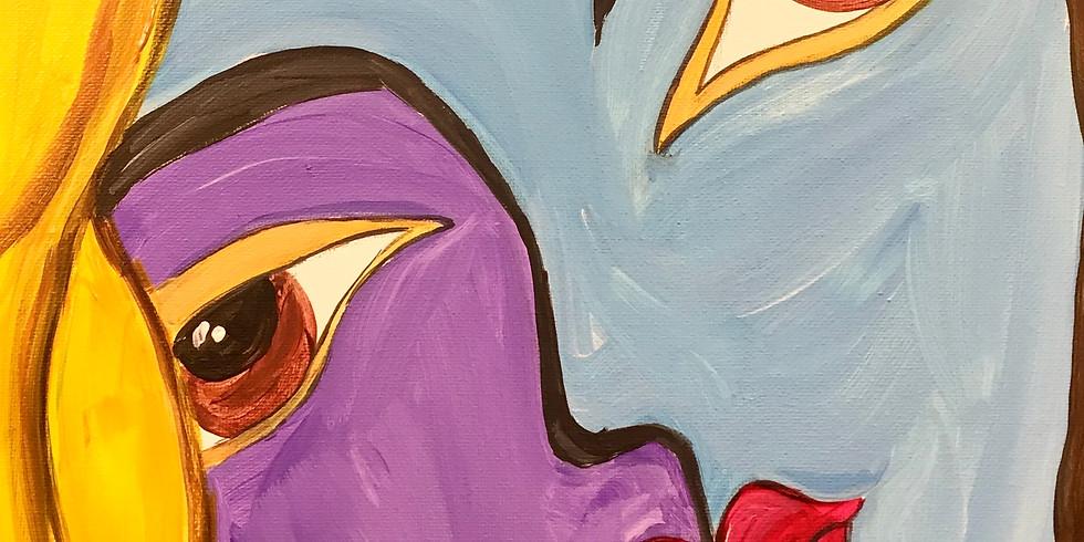 Virtual Artsy Party! - Picasso Faces