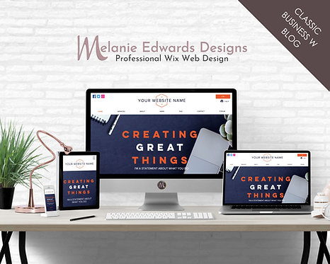 Classic Business Template w Blog
