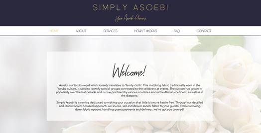 Simply Asoebi