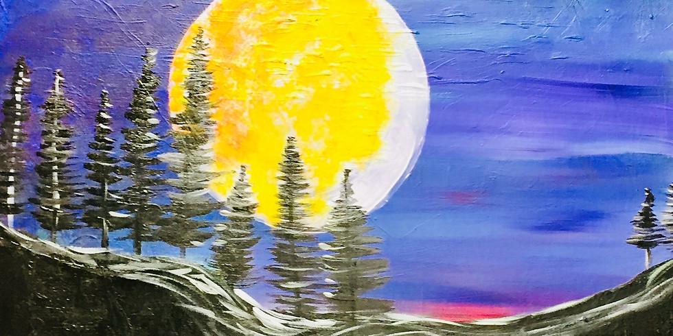 Pine Moon!, Virtual Artsy Party
