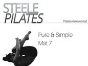 Steele Pilates Pure & Simple Mat 7