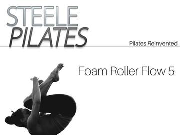 Steele Pilates Foam Roller Flow 5