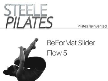 Steele Pilates ReForMat Slider Flow 5