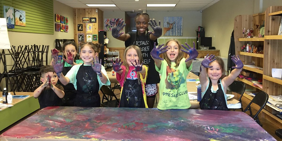 Summer Paintings Inspired by the Masters!!! - Summer Camp
