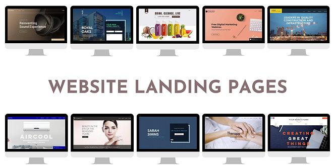 Landing Page Site Build