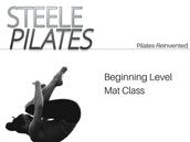 Beginning Level Mat Class