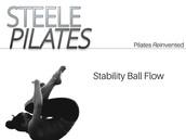 Steele Pilates Stability Ball Flow