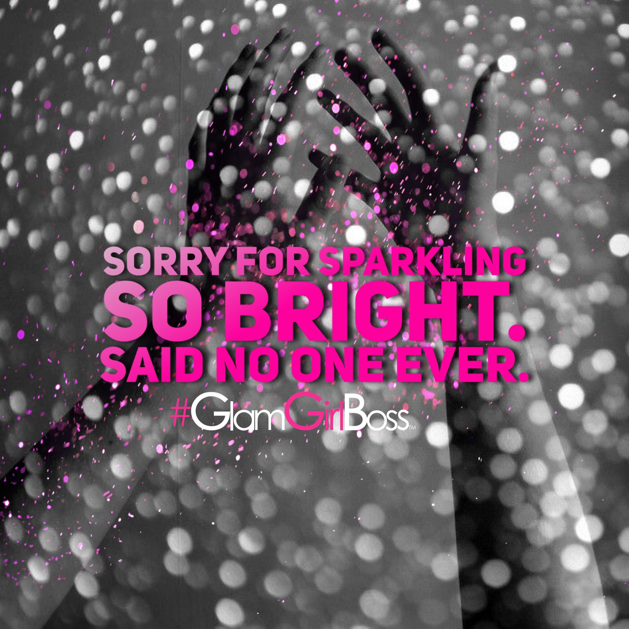 Sparkling so bright.