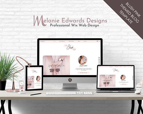 Blushing Blog Template