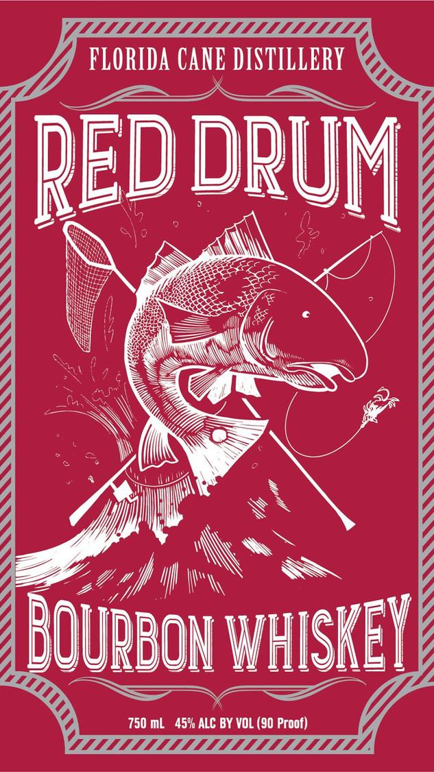 RED DRUM BOURBON WHISKEY