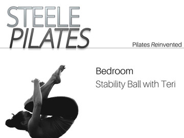 Bedroom Stability Ball with Teri
